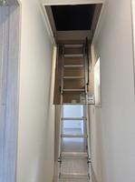 天井収納庫はしご