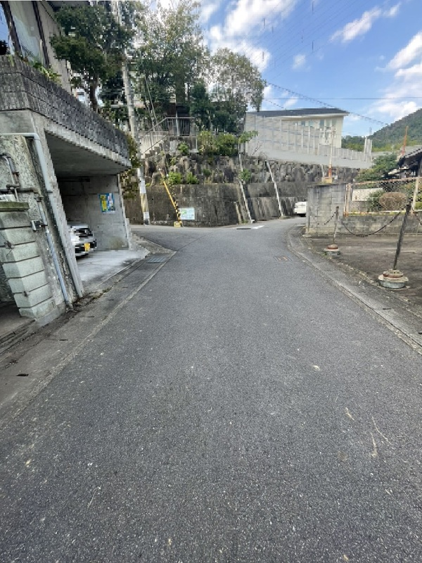 前面道路(南側から撮影)