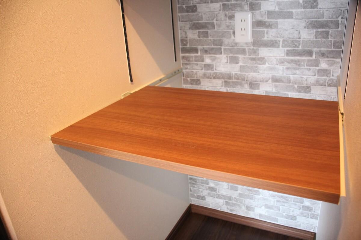 キッチン横スライド可動棚