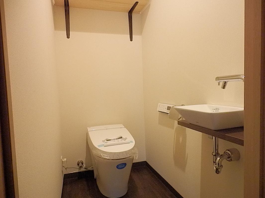 ゆったりとリラックスできるトイレ