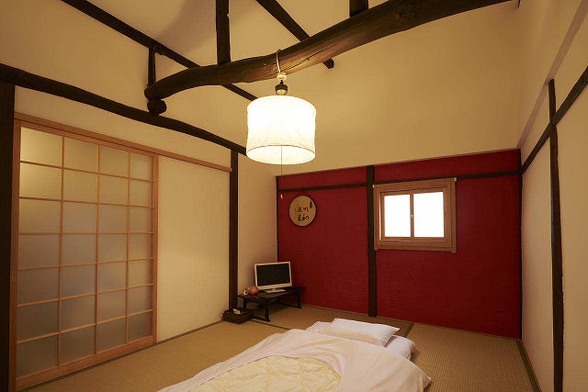 和テイストな寝室